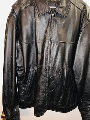 Black Leather Jacket for Sale in Alexandria, VA