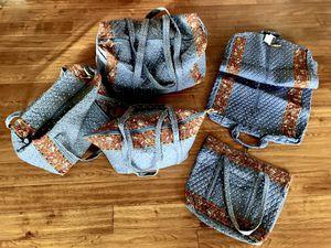 Vera Bradley Tote, 2 Duffels & Garment Bag for Sale in Phoenix, AZ