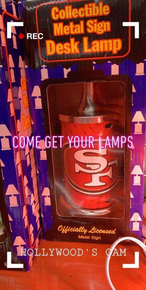 Team Lamps $30 each for Sale in Las Vegas, NV