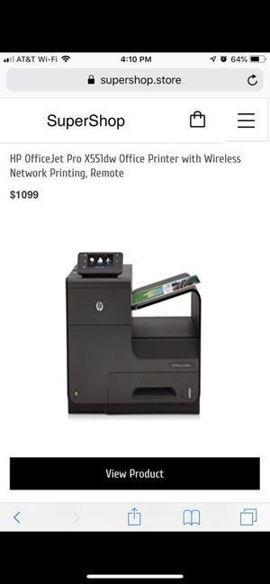 HP OfficeJet Pro X551DW for Sale in Cleveland, OH