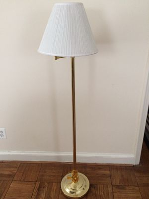 Lamp with Shade about 5 feet tall for Sale in Arlington, VA