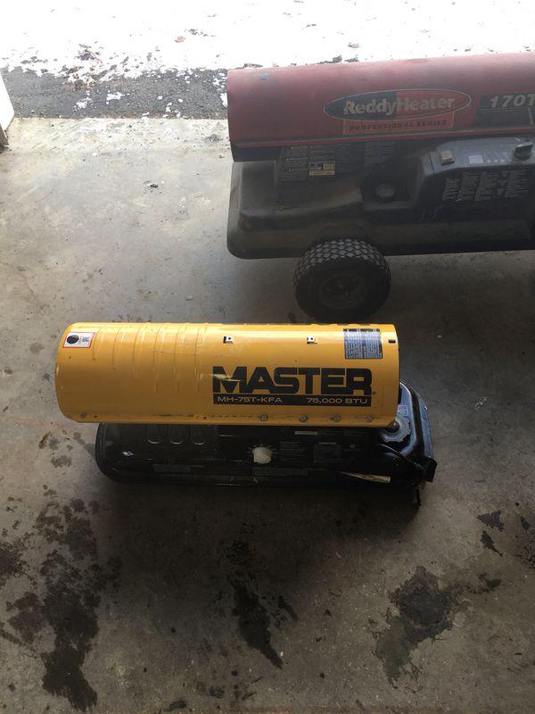 Master mh75t-kfa 75000 btu