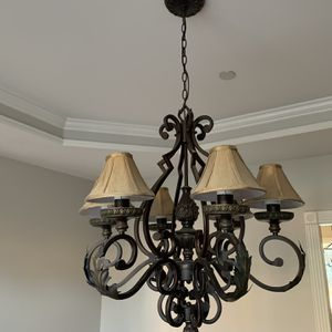 Lighting Fixture For Formal Dining Room (Oil Rubbed bronze) for Sale in Nolensville, TN