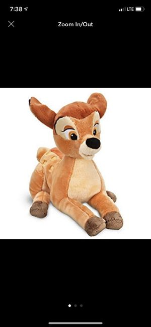 Bambi plushie for Sale in Anaheim, CA