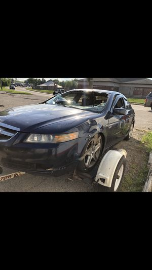 04 Acura TL for parts I still have parts doors,mirrors,seats,motor,transmission. Tex for parts cash only. Or if any body wants the whole car. OBO for Sale in Wauconda, IL