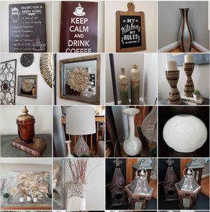 DECORATIVE ACCESORIES, FRAMES, CANDLE HOLDERS, ETC for Sale in Columbia, MD