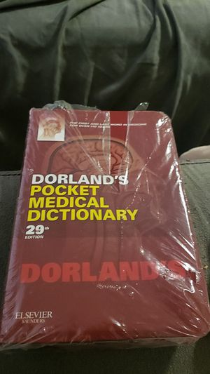 dorland's pocket medical dictionary 29th edition for Sale in San Francisco, CA