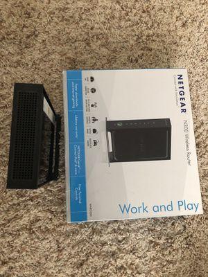 Netgear N300 Wifi Router for Sale in Hershey, PA