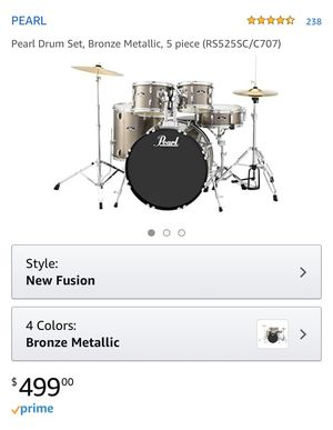 New Pearl Drum Set for Sale in Columbus, OH