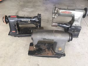 Vintage sewing machines 2 Singer & 1 Consew for Sale in Highland, CA