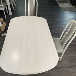 Light Gray Kitchen Table for Sale in West Babylon, NY