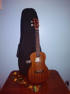 Ukulele with case and strap for Sale in Garland, TX
