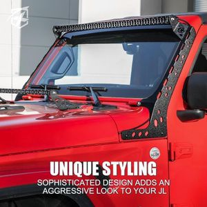 Jeep Wrangler Light Bar Brackets Jk / Jl Any Year for Sale in Oro Grande, CA