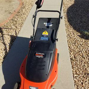 Black & Decker Electric Rear Bag Lawn Hog Lawn Mower Works Great for Sale in San Diego, CA