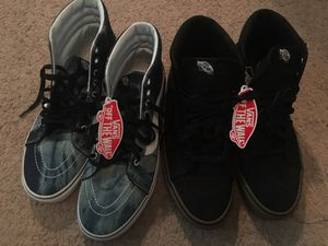 2 brand new pair of vans sz 11 for Sale in Jackson, TN