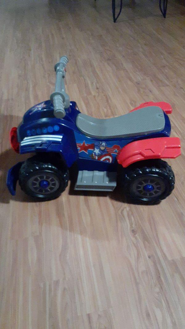 Captain America kids four wheeler