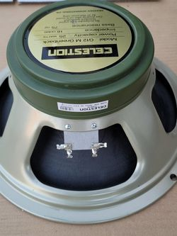G12M Greenback 16ohm Guitar Speakers By Celestion - Used But In Proper Working Order for Sale in Norwalk,  CA