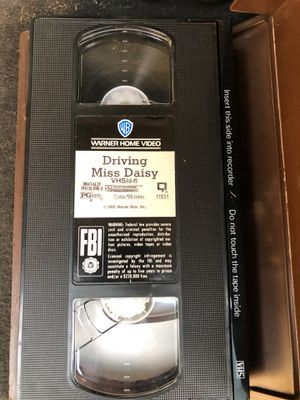 VHS driving miss Daisy for Sale in Fresno, CA