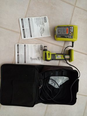 Ryobi 12 volt auto hammer and battery charger with original bag for Sale in Boynton Beach, FL