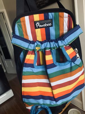 2 multicolor dog carrier for Sale in Chicago, IL