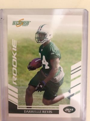 Darrelle Revis Rookie 2007 Donruss Card for Sale in Atlanta, GA