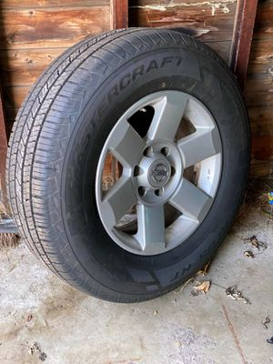 Set of Master Craft tires with Armada 6 lug rims for Sale in Greece, NY