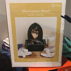 meditation Hand Water Fountain for Sale in Chicago,  IL