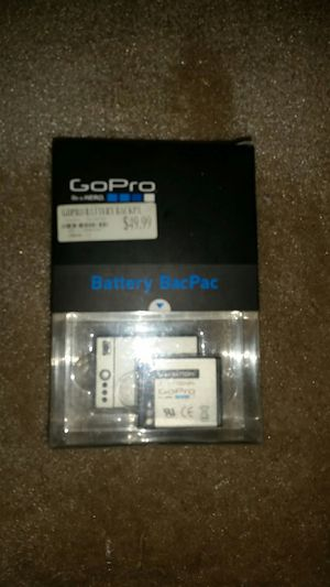 GOPRO BATTERY BACPAC HERO for Sale in Collinsville, IL
