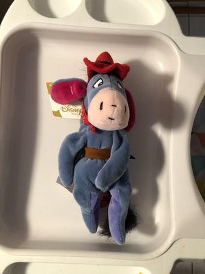 Disney Cowboy Eeyore beanie doll for Sale in Bedford Park, IL
