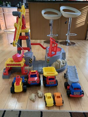 Construction site toys for Sale in North Potomac, MD
