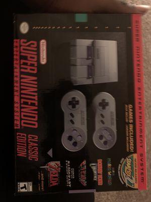 Super nintendo classic edition for Sale in Atlanta, GA