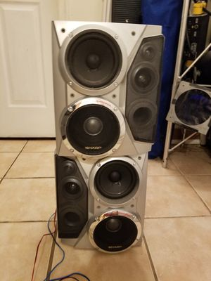 Powered subwoofer sharp for Sale in Aspen Hill, MD