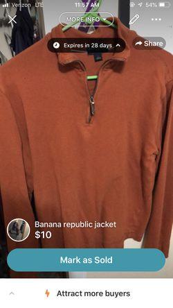 Banana republic jacket for Sale in Murfreesboro,  TN