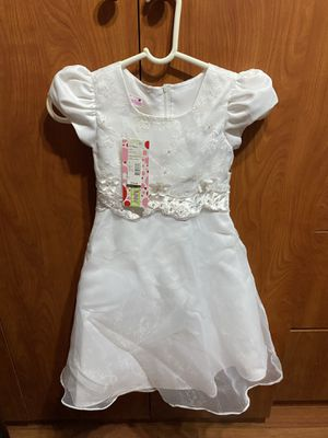 New girl formal white dress-$10-West Kendall for Sale in Miami, FL