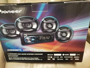 PIONEER STEREO PACKAGE (4 SPEAKERS) for Sale in Joliet, IL