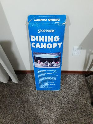 """Dining canopy tent size 12"""" x 12"""" . New for Sale in Everett, WA"""