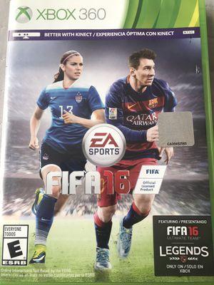 Xbox 360 Fifa 16 game for Sale in Baldwin Park, CA