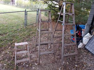 Ladders 3 sizes 85$ for Sale in Pataskala, OH