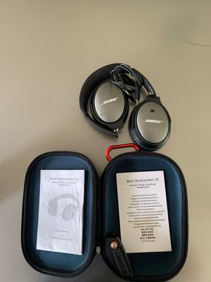 Bose 25 noise cancelling headphones for Sale in Phoenix, AZ