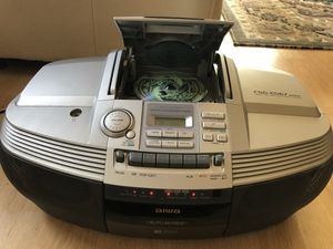 Aiwa CSD-ED67 Compact Disc Stereo Radio Cassette Recorder Boombox for Sale in Covington, WA
