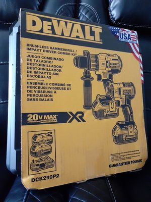 DeWalt DCK299P2 Combo 5Ah Kit 2-Tool XR Brushless Set .......Brand New....... for Sale in Seattle, WA