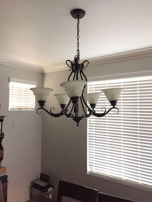 Chandelier with five lights for Sale in Montclair, CA