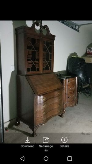 Secretary desk for Sale in Rosenberg, TX