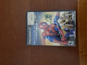 Spiderman Friend or Foe for Playstation 2 Ps2 complete in box for Sale in Lilburn, GA