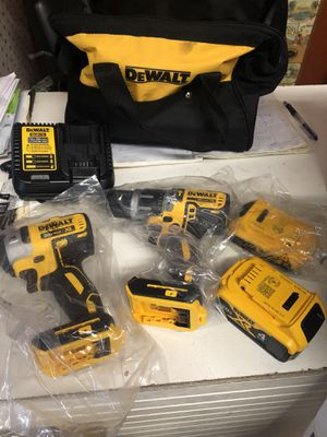 DEWALT XR HAMMER DRILL AND IMPACT 20v for Sale in St. Louis, MO
