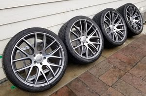 22x10 Audi Mercedes BMW VW Miro 111 Wheels + Tires for Sale in Los Alamitos, CA