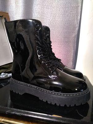 Women's 11 Unilady Black Combat Boots for Sale in Magna, UT