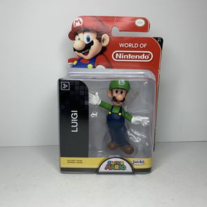 NEW Luigi Super Mario Nintendo Video Game Action Figure Toy for Sale in Hamilton Township, NJ