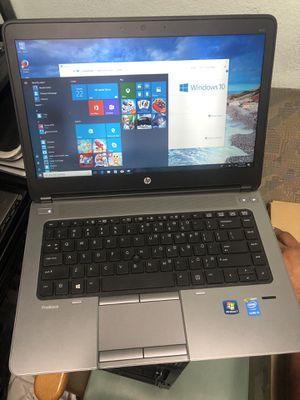 HP Probook 640 i5 4th gen 500gbhd display port windows 10 for Sale in Chula Vista, CA