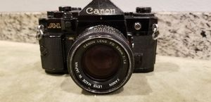 CANON A-1 35MM SLR CAMERA W/ CANON FD 50MM 1:1.4 LENS for Sale in San Diego, CA